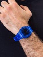 Zegarek niebieski sportowy Casio G-SHOCK Original DW-5600SB-2ER pasek - duże 5