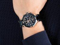 Zegarek niebieski sportowy Festina Chrono Bike F20524-1 bransoleta - duże 6
