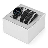 Fossil Smartwatch FTW6055SET zegarek czarny sportowy Fossil Q bransoleta