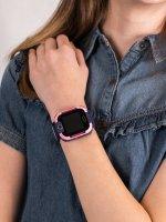 zegarek Garett 5903246286878 Smartwatch Garett Kids 4You różowy dla dzieci z gps Dla dzieci