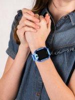 zegarek Garett 5903246286885 Smartwatch Garett Kids 4You niebieski dla dzieci z gps Dla dzieci