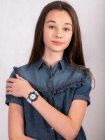 Zegarek niebieski sportowy Lorus Dla dzieci RRX29GX9 pasek - duże 4