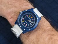 Zegarek niebieski sportowy Nautica Pasek NAPSRF002 pasek - duże 6