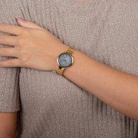 Obaku Denmark V173LXGJMG SKY - DUSK Slim fashion/modowy zegarek złoty