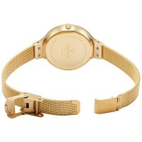 zegarek Obaku Denmark V173LXGJMG złoty Slim