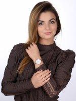 zegarek Obaku Denmark V173LXVWMV kwarcowy damski Slim SKY - ROSE