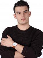 zegarek Obaku Denmark V190GDCWRZ srebrny Slim