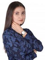 zegarek Obaku Denmark V209LXCIMC kwarcowy damski Slim LIV - STEEL