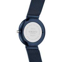 Obaku Denmark V230LXHLML damski zegarek Slim bransoleta