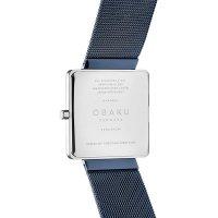 Zegarek damski Obaku Denmark  bransoleta V236LXHLML - duże 3