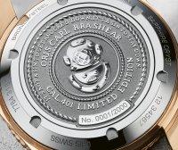 zegarek Oris 01 771 7744 3185-SET LS srebrny Diving