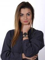 zegarek Pierre Ricaud P22002.9214Q-141.9BL kwarcowy damski Pasek + BRANSOLETKA