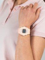 Zegarek pomarańczowy sportowy Casio Baby-G BLX-570-4ER pasek - duże 5