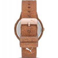 Puma P1002 zegarek damski Reset brązowy