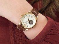 Zegarek RA-AG0024S10B Orient Contemporary Classic Open Heart Automatic szkło mineralne - duże 6