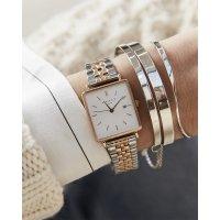 Rosefield MFQSR-X232 zegarek różowe złoto klasyczny Boxy bransoleta