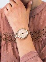 Zegarek różowe złoto elegancki Bisset Klasyczne BSBE93RIRX03BX bransoleta - duże 5