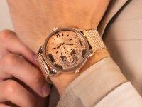 Zegarek różowe złoto fashion/modowy  Daddies DZ5600 bransoleta - duże 6