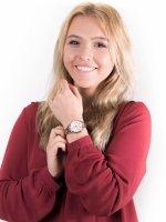 Zegarek różowe złoto fashion/modowy Casio Sheen SHE-3047PG-9AUER bransoleta - duże 4