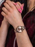 Zegarek różowe złoto fashion/modowy DKNY Bransoleta NY2637 bransoleta - duże 5