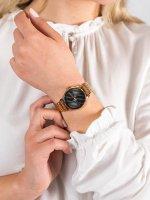 Zegarek różowe złoto fashion/modowy Esprit Damskie ES1L029M0065 bransoleta - duże 5