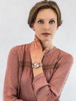 Zegarek różowe złoto fashion/modowy Michael Kors Hartman MK3595 bransoleta - duże 4