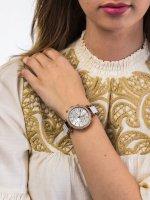 Zegarek różowe złoto fashion/modowy Michael Kors Parker MK5774 bransoleta - duże 5