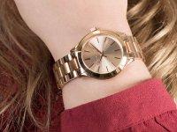 Zegarek różowe złoto fashion/modowy Michael Kors Runway MK3513 bransoleta - duże 6