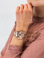 Zegarek różowe złoto fashion/modowy Michael Kors Runway MK4294 bransoleta - duże 5