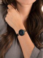 Zegarek różowe złoto fashion/modowy Obaku Denmark Bransoleta V149LVLML bransoleta - duże 5