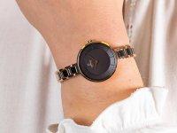 Zegarek różowe złoto fashion/modowy Obaku Denmark Bransoleta V183LXVNSV bransoleta - duże 6