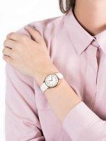 Zegarek różowe złoto fashion/modowy Timex Easy Reader TW2T53900 pasek - duże 5
