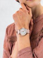 Zegarek różowe złoto fashion/modowy Timex Transcend TW2T35300 pasek - duże 5
