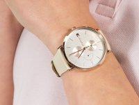 Zegarek różowe złoto fashion/modowy Tommy Hilfiger Damskie 1781948 pasek - duże 6