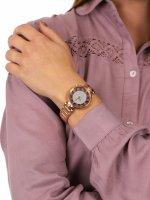 Zegarek różowe złoto fashion/modowy Versus Versace Damskie VSP491519 bransoleta - duże 5