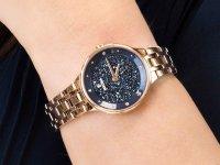 Zegarek różowe złoto Festina Mademoiselle F20384-3 bransoleta - duże 6