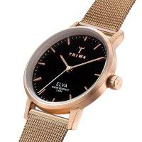 Zegarek różowe złoto klasyczny  Elva ELST102-EM021414 bransoleta - duże 5