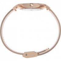 Zegarek różowe złoto klasyczny  Full Bloom TW2U19000 bransoleta - duże 7