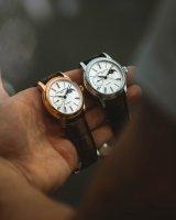 Frederique Constant FC-712MS4H4 zegarek różowe złoto klasyczny Manufacture pasek
