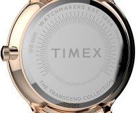 Timex TW2T74500 zegarek różowe złoto klasyczny Transcend bransoleta