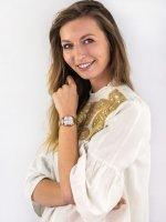 Zegarek różowe złoto klasyczny Anne Klein Bransoleta AK-3416SVRG bransoleta - duże 4