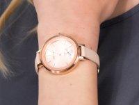 Zegarek różowe złoto klasyczny Anne Klein Pasek AK-2992RGLP pasek - duże 6