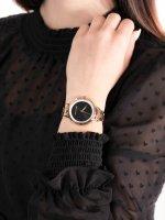 Zegarek różowe złoto klasyczny Armani Exchange Fashion AX5613 bransoleta - duże 5