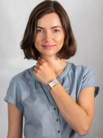 Zegarek różowe złoto klasyczny Bering Classic 10426-066-S bransoleta - duże 4