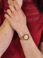 Zegarek różowe złoto klasyczny Bering Classic 12927-366 bransoleta - duże 5