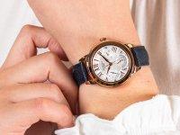 Zegarek różowe złoto klasyczny Casio Sheen SHE-3059PGL-7BUER pasek - duże 6
