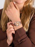 Zegarek różowe złoto klasyczny Casio Sheen SHE-4512PG-9AUER bransoleta - duże 5