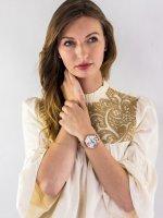 Zegarek różowe złoto klasyczny Cluse La Roche CW0101204001 bransoleta - duże 4