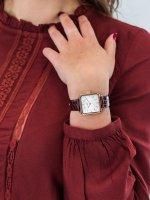 Zegarek różowe złoto klasyczny Cluse La Tetragone CW0101207029 pasek - duże 5