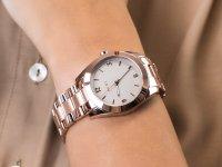 Zegarek różowe złoto klasyczny DKNY Bransoleta NY2874 bransoleta - duże 6